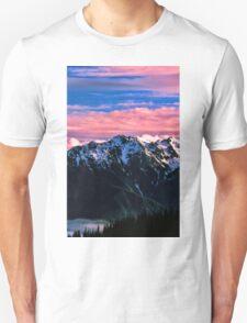 SUNSET,OLYMPIC NP Unisex T-Shirt