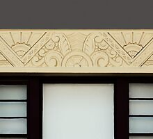 Art deco style window by Christopher Biggs