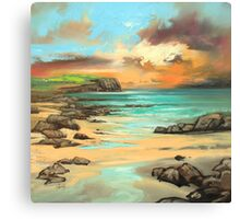 Skye Cliff Canvas Print
