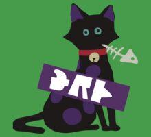 Splatoon SquidForce Splatfest Cat Tee Kids Tee