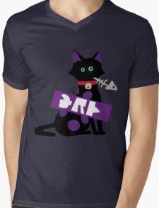 Splatoon SquidForce Splatfest Cat Tee Mens V-Neck T-Shirt