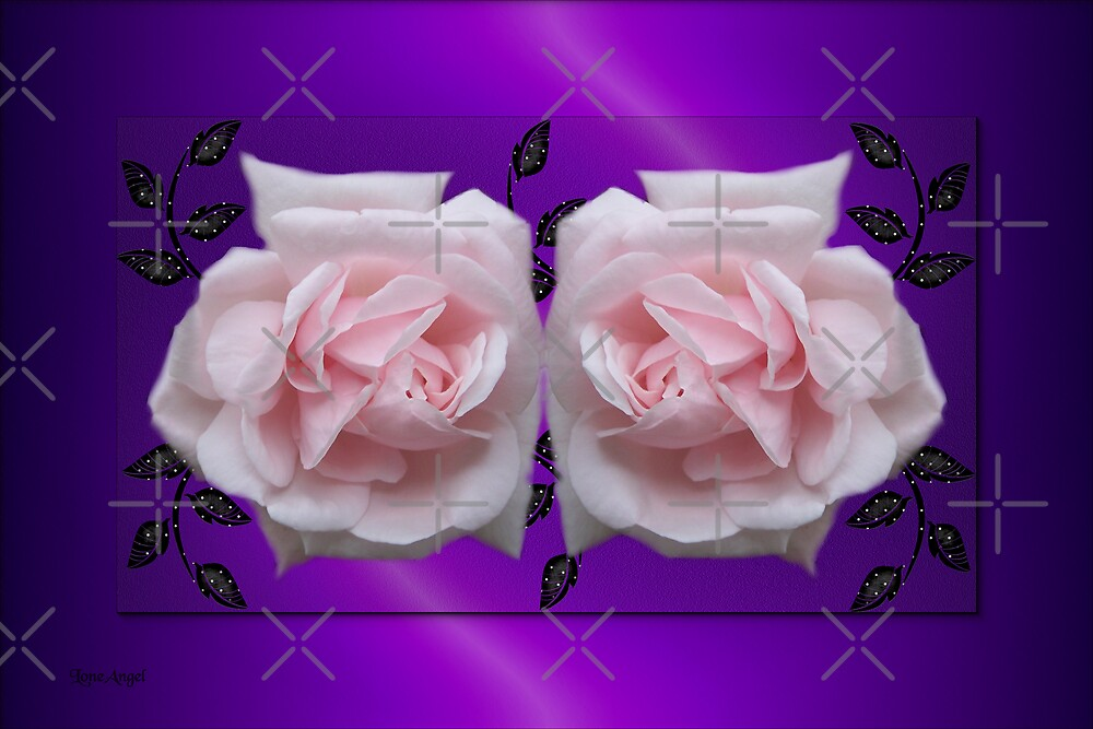 Gentle Touch .. Enchanting Roses by LoneAngel