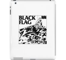 Black flag- Six pack iPad Case/Skin