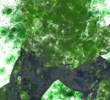 Hulk Splatter Graphic Sticker