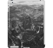 Vernal Falls and Nevada Falls iPad Case/Skin