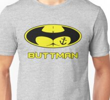 Buttman with Sailor Anchor  Tatoo Unisex T-Shirt