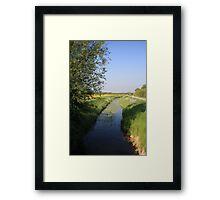 Stream In The Sun Framed Print