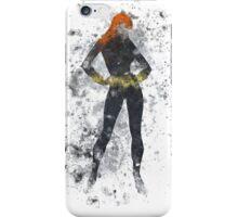 Black Widow Splatter Graphic iPhone Case/Skin