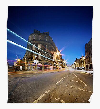 Argyle Street - Glasgow Poster