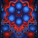 mind bugling in red&blue by innacas
