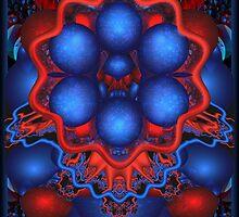 mind bugling in red&blue by innacas