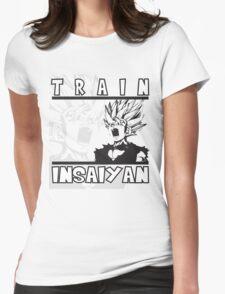 Train Insaiyan - Teen Gohan Womens Fitted T-Shirt