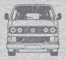 80s VW Van One Piece - Short Sleeve