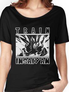 Train Insaiyan - dark Women's Relaxed Fit T-Shirt