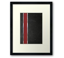 N7 Game Armour Framed Print