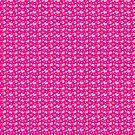 Pink Hearts Pattern by SaradaBoru