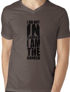 I AM NOT IN DANGER, I AM THE DANGER! Mens V-Neck T-Shirt