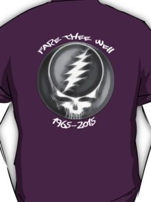 """Grateful Dead """"Fare Thee Well"""" 50th Anniversary Steal Your Face GD50 T-Shirt"""