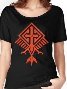 Bird of Pray (red) Women's Relaxed Fit T-Shirt