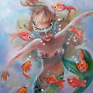 as She Dances with the Fishes by Robin Pushe'e