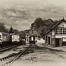 Cheddleton Station by Aggpup
