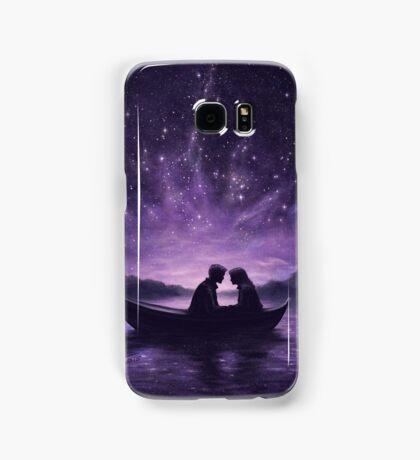 Lovers under a starlit sky Samsung Galaxy Case/Skin