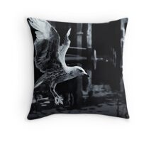 Rider of the wind Throw Pillow