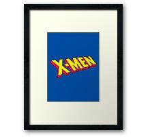 The Uncanny X-Men Framed Print