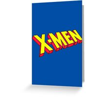 The Uncanny X-Men Greeting Card