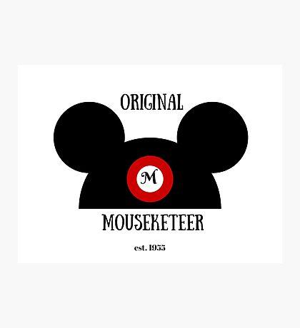 Original Mouseketeer Photographic Print