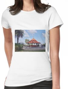 Pagoda in Kings Park Womens Fitted T-Shirt
