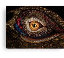 Dragon Eye (original) Canvas Print