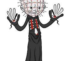 Pinhead: JAZZ HANDS by juniorbethyname