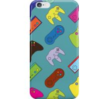 Many Coloured Console Controllers... iPhone Case/Skin