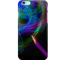 Drawing With Light iPhone Case/Skin