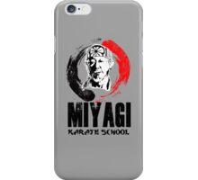 Miyagi karate school.  iPhone Case/Skin