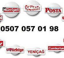 0507 057 01 98 - POSTA İLAN VERME MERSİN by gazeteilanverme