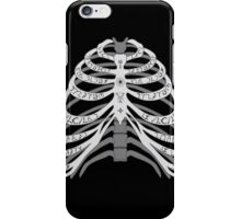 The Bones of a Winchester iPhone Case/Skin