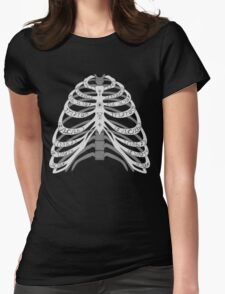 The Bones of a Winchester Womens Fitted T-Shirt