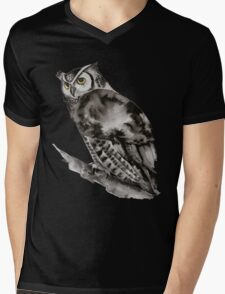 Owl You Need is Love Mens V-Neck T-Shirt