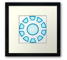 Arc Reactor Framed Print