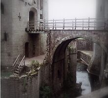 A Moat into the Great Tower. by Larry Lingard-Davis