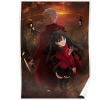 Fate/stay night Unlimited Blade Work Poster