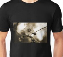 Cherry Blossoms in Sepia #2 Unisex T-Shirt