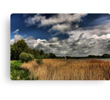Lakeside Skyscape HDR Canvas Print
