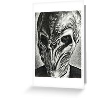 I Thought I Heard a Silent Sound... Greeting Card