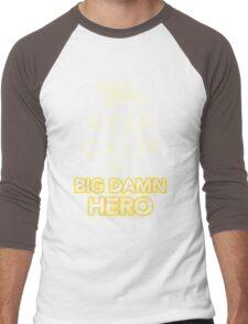 Keep Calm, I'm a Big Damn Hero Firefly Shirt Men's Baseball ¾ T-Shirt