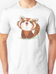 Red panda happy T-Shirt