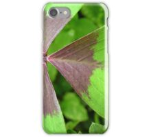 Oxalis iPhone Case/Skin
