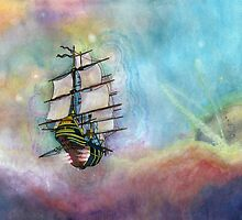 Mike's Tall Ship by kpdesign
